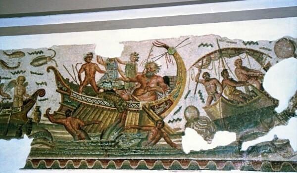 Dyonisos châtiant les pirates (Dougga)260apJC