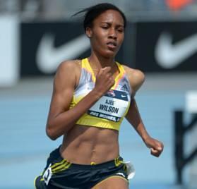 RESULTS OF THE IAAF Diamond League Herculis Monaco 18th July 2014 WOMEN 800m RANK ATHLETE NATION RESULT DIAMOND POINTS DIAMOND RANKING 1 WILSON Ajee USA 1:57.67 WL 7 2  2 SUM Eunice Jepkoech KEN 1:57.92 SB 18 1 3 NANYONDO Winnie UGA 1:58.63 NR 1 6  4 JEPKOSGEI Janeth KEN 1:58.70 SB  5 POISTOGOVA Yekaterina RUS 1:59.31 2 3  6 BECKWITH-LUDLOW Molly USA 1:59.32   7 ROESLER Laura USA 1:59.44  8 JUDD Jessica GBR 1:59.99 1 6  9 LAMOTE Renelle FRA 2:00.06 PB  10 FEDRONIC Justine FRA 2:00.41 PB  JERUTO Agatha KEN DNF  Intermediate times: 400m JERUTO, Agatha (KEN) 57.65 600m JERUTO, Agatha (KEN) 1:28.43