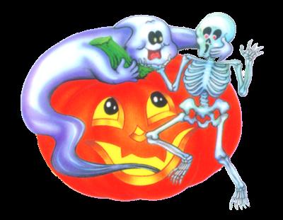Tubes halloween fantômes