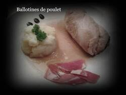 Ballotines de poulet