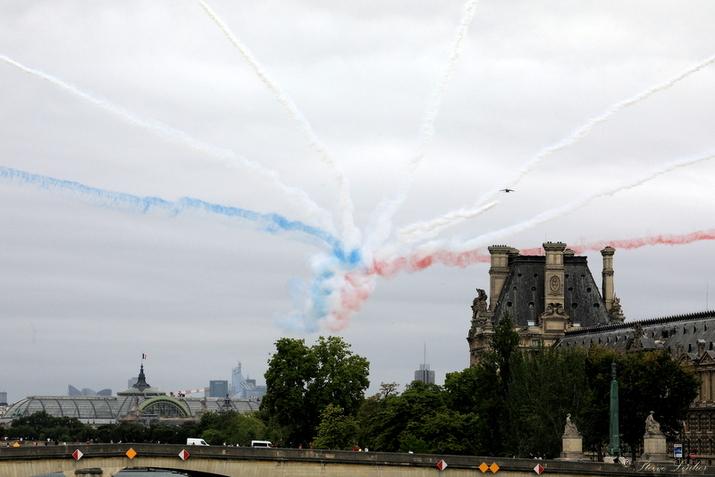 La Patrouille de France, 14 juillet 2020, Paris