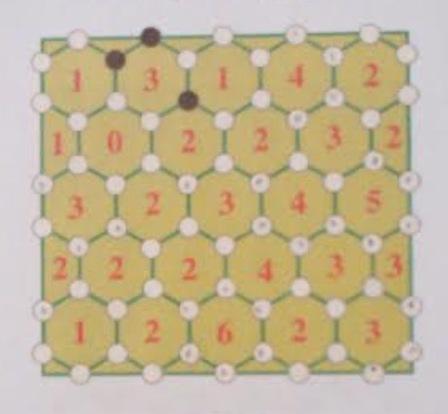 - Simple jeu avec des hexagones -