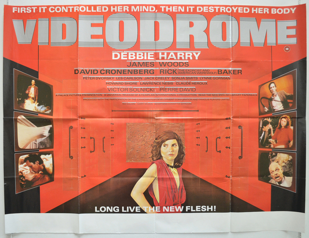 VIDEODROME DEBBIE HARRY BOX OFFICE 1984