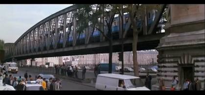Les ponts de la Goutte d'Or : 2. le pont Saint-Ange