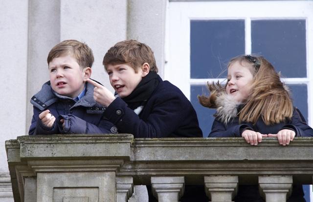 Henrik et ses petits-enfants
