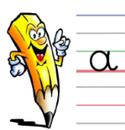 L'écriture en cursives