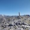 Arrivée au sommet de la Peña Sabocos (2757 m)