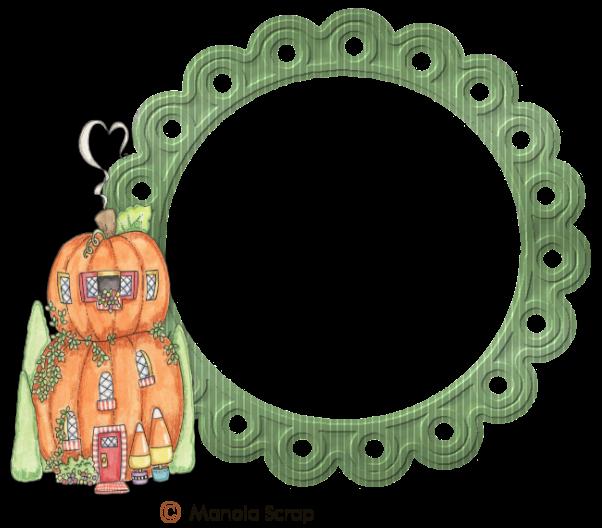 Cadres vectoriel d'Halloween page 1