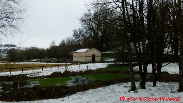 Photos de neige, par Nicole Prévost....