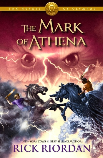 Heroes of Olympus 3-5 The mark of Athena - Rick Riordan