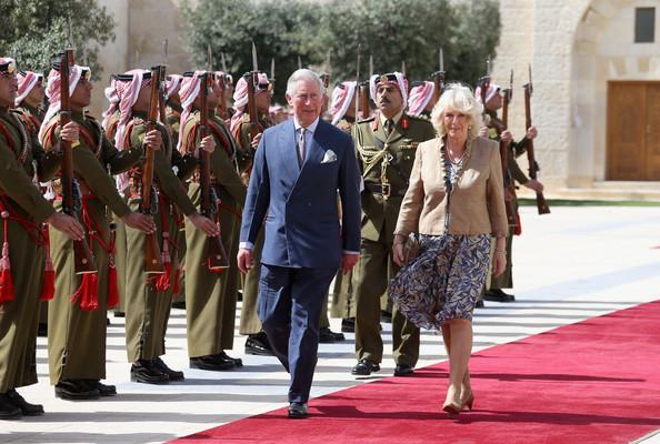 Rania, Camilla et leurs maris