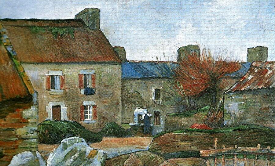 Le Pouldu  1 /           Gauguin à la recherche de la tranquillité !