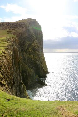 Isle of Skye (4) - Neist Point - The Cuillins Hill