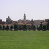 La plaine du Pô à l'est de Turin