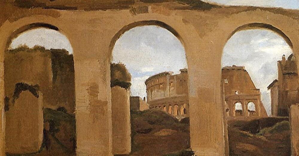 Corot /1/     1825 :voyage en Italie