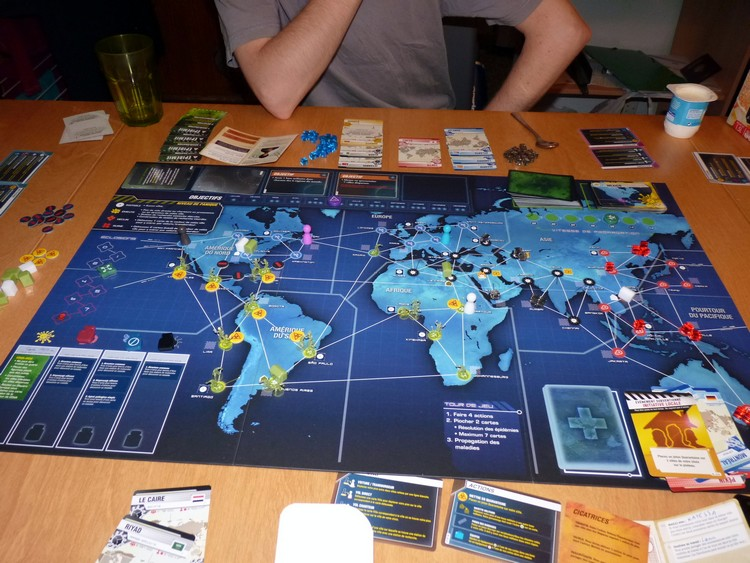 Pandémie Legacy (fin juin)