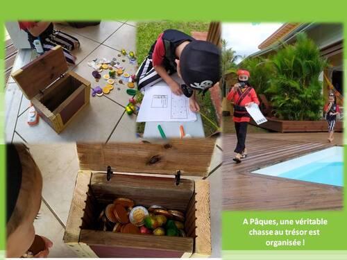La chasse au trésor de Pâques en Guadeloupe !