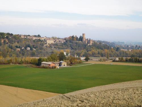 Eté indien à Castell'Arquato PC Emilia-Romagna Italie