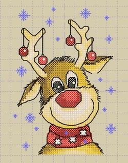 Rudolphe se prépare.