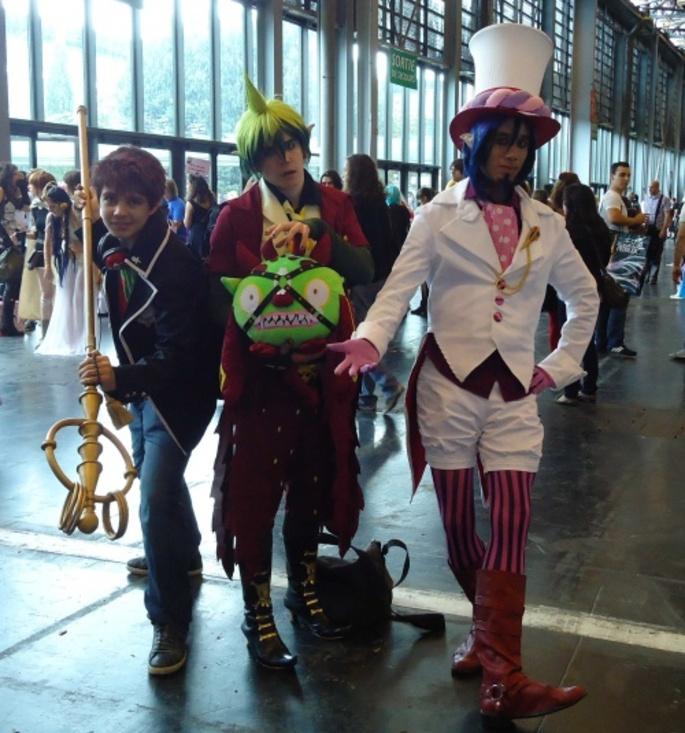 JAPAN EXPO, encore des cosplays