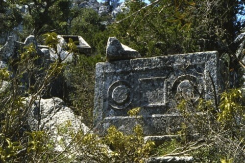 Termessos sarcophage Turquie 1