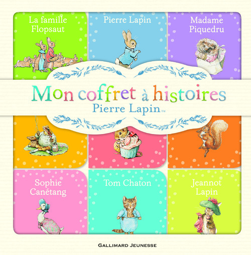 Ses premiers living books : Pierre Lapin de Beatrix Potter