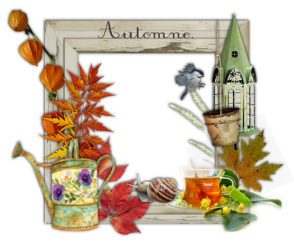 Cadres clusers d'automne