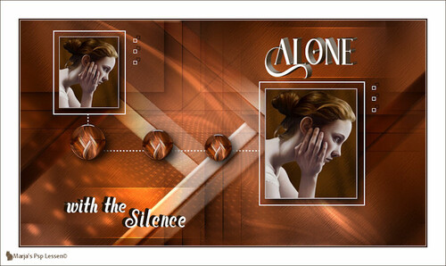 Alone with the silence