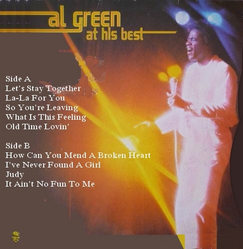 "Al Green : Album "" Al Green At His Best "" Vogue Records 508577 [ FR ]"