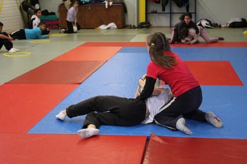 Séance de lutte à Carcassonne Olympique