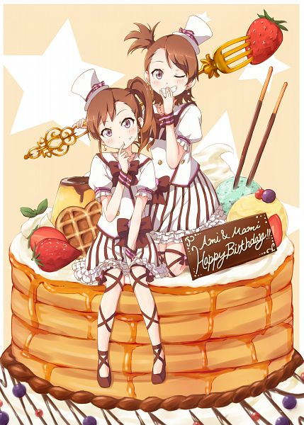 Tags: Anime, Pixiv Id 5221778, THE iDOLM@STER, Futami Ami, Futami Mami, Birthday