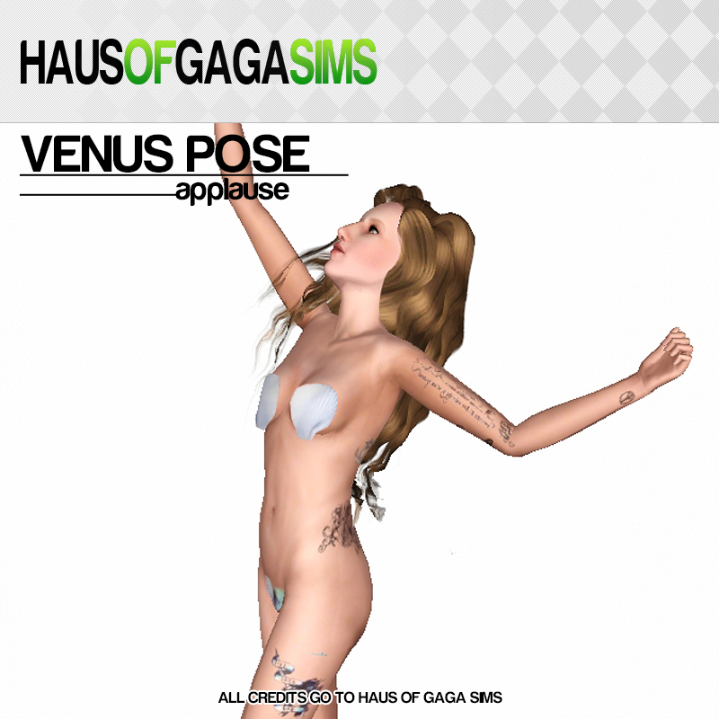 VENUS POSE (APPLAUSE MV)