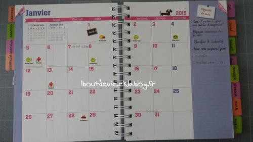Planifier son année