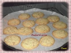 cookies aux spéculoos et noisettes