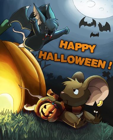 Halloween sur transformice