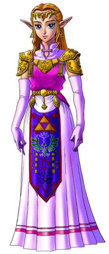 Princess Zelda (Adult) - <i>Ocarina of Time 3D</i>