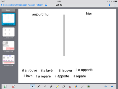 Gafi 17 sur Notebook IPad