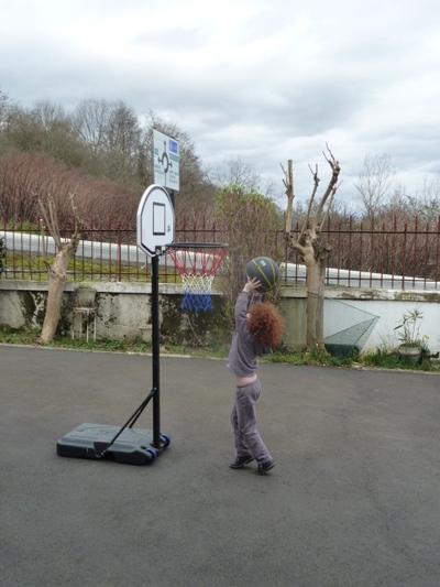 Basket pour la première fois !