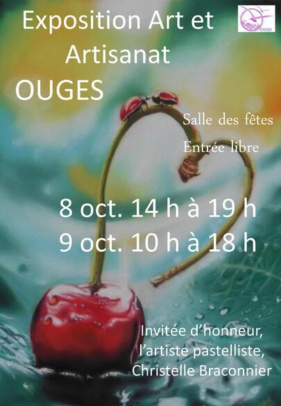 OCT 2016 - Invitée d'honneur à l'exposition Art et Artisanat à Ouges (21)