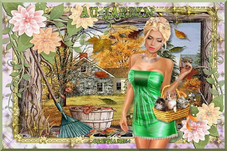 Défi au jardin pour Beauty