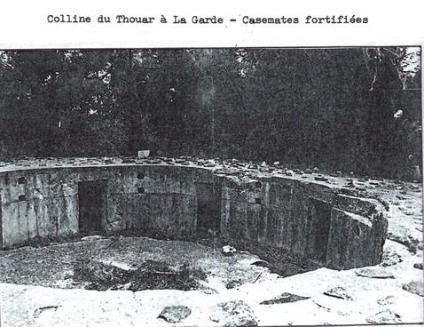 Etape n° 7 - 22 et 23 Août 1944 : La prise du Massif du Thouar, de La Garde et du Pradet