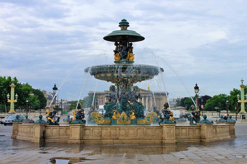 Paris : place de la concorde