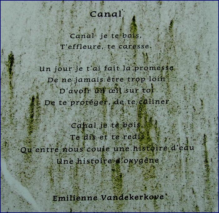Le canal de Roubaix - Contrebande et poèmes