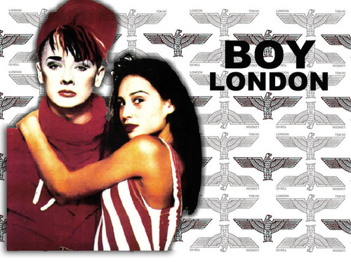 Boy George - 1987 [Fond d'écran Boy London By T@d]