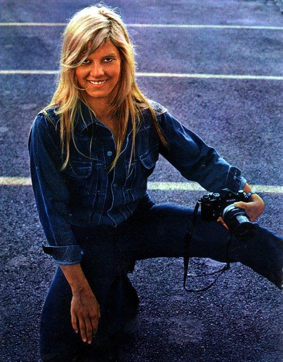 Portrait Sylvie 1970