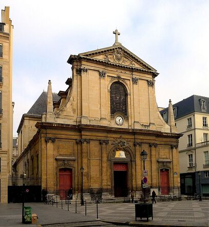 Image illustrative de l'article Basilique Notre-Dame-des-Victoires de Paris