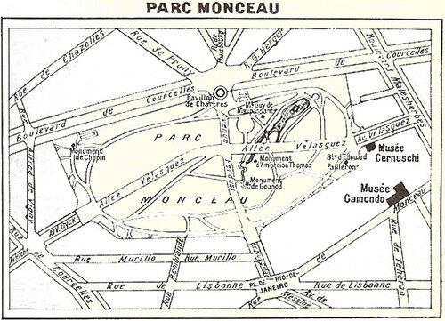 """** A PARIS. -UNE PROMENADE AU PARC MONCEAU."""""""""""