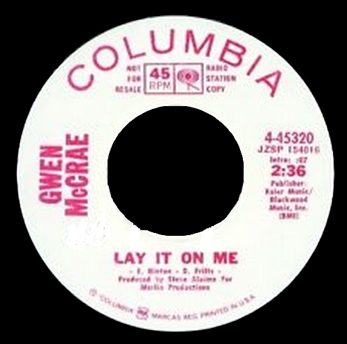 "Gwen McCrae : CD ""  Lay It On Me : The Columbia Years "" P & C Records PCD 72002 (A774373) [ JP ]"