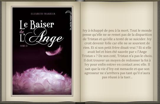 « Le baiser de l'ange : tome 3 » d'Elizabeth Chandler.