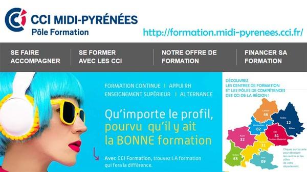 CCI Midi-Pyrénées - Pôle Formation - http://formation.midi-pyrenees.cci.fr/